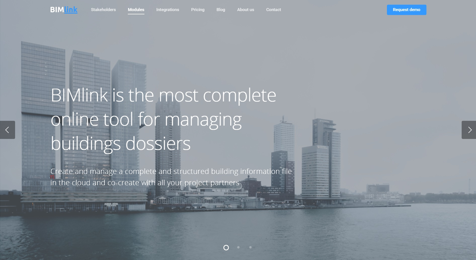 BIMlink lanceert nieuwe website