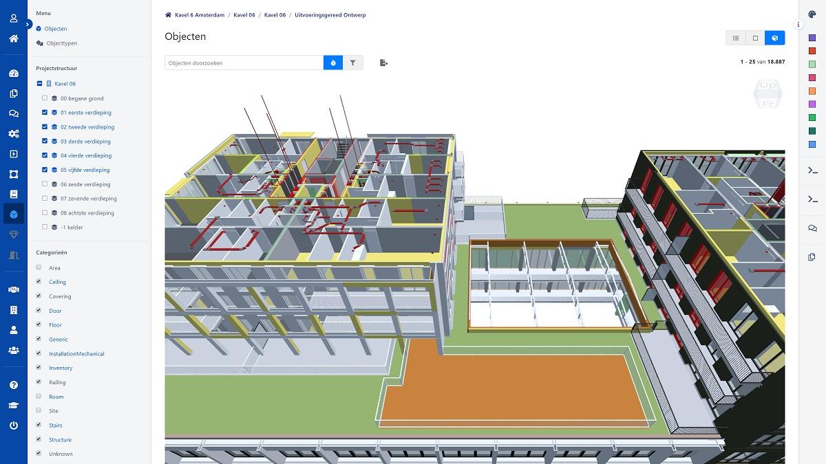BIMlink lanceert 3D-viewer voor bekijken van BIM-modellen in browser