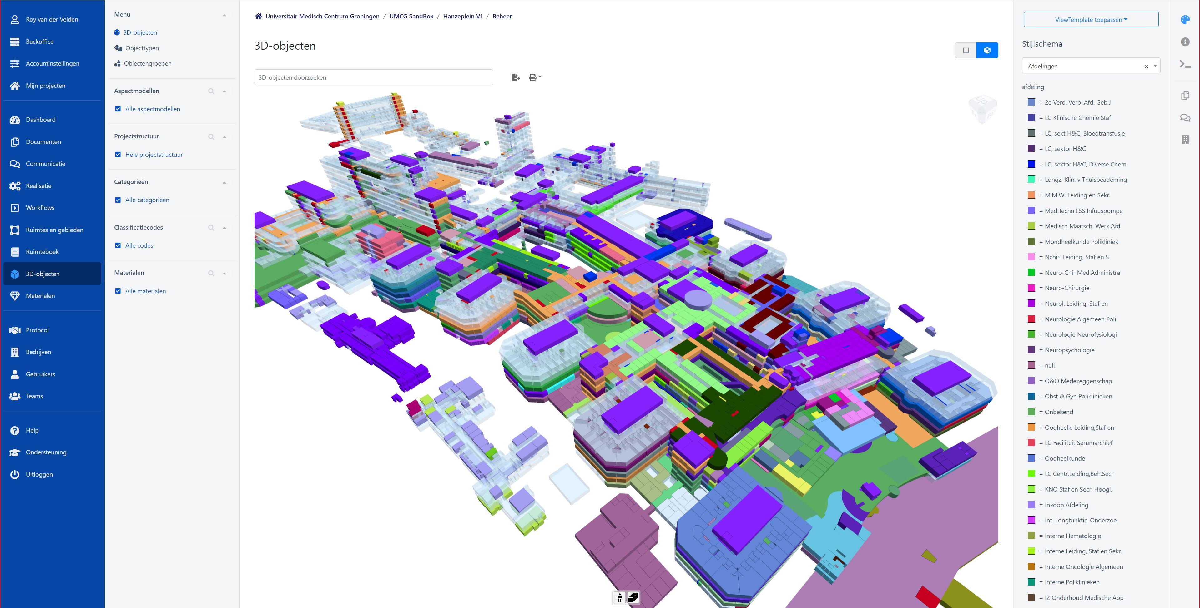 UMCG maakt gebouwbeheer toekomstbestendig met BIMlink